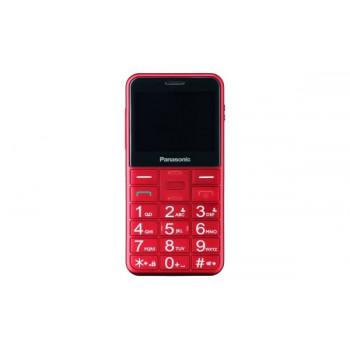 TELEFONO MOVIL SENIOR PANASONIC  KX-TU150EXR ROJO