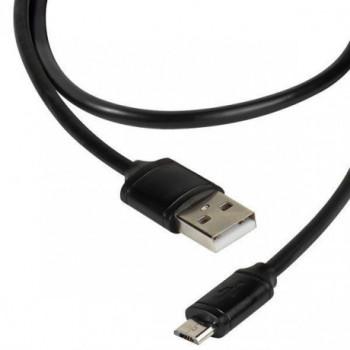 CABLE  VIVANCO .DCVVMCUSB12BK  USB A-MICRO USB 1.2M NEGRO