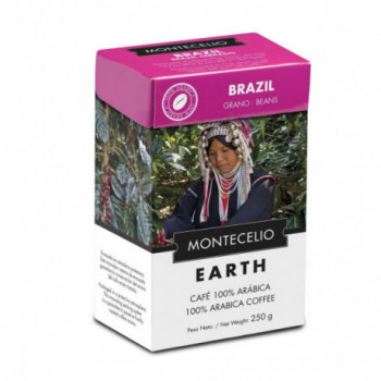 CAFE  MONTECELIO BRASIL 250G GRANO