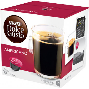 CAFE DOLCE GUSTO AMERICANO 3 CAJAS 16CAP.