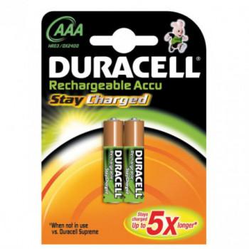 PILA RECARGABLE DURACELL PRECHARGED AAA B4 LR03