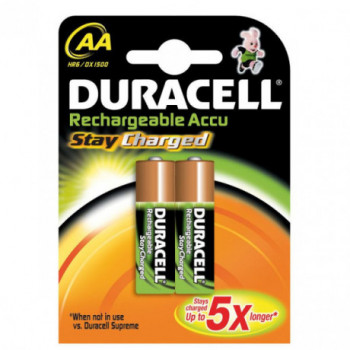 PILA RECARGABLE DURACELL PRECHARGED AA B4 LR 06
