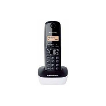 TELEFONO DECT PANASONIC KX-TG1611SPW NEGRO/BLANCO
