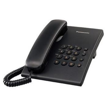 TELEFONO SOBREMESA PANASONIC KX-TS500EXB NEGRO