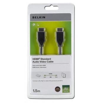 CABLE  BELKIN F3Y017R1.5MBLK  HDMI HDMI/HDMI 1 5M NEGRO