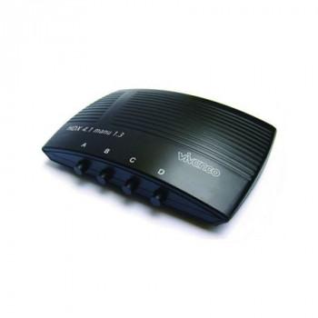 DISTRIBUIDOR  VIVANCO .HDX 4.1MANU 1.3 CONMUTADOR HDMI 4 EN 1 1.3