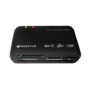 REPLICADOR PUERTOS USB WOXTER WX419 LECTOR DNIE TAR.FLAS