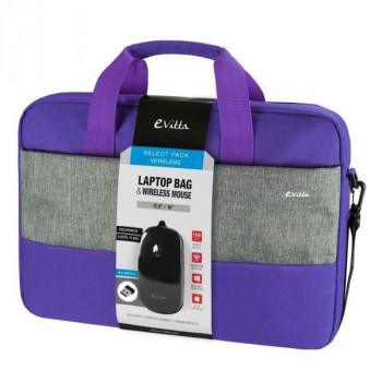 BOLSA E-VITTA BAG SELECT PACK 16 WIRELESS PURPLE