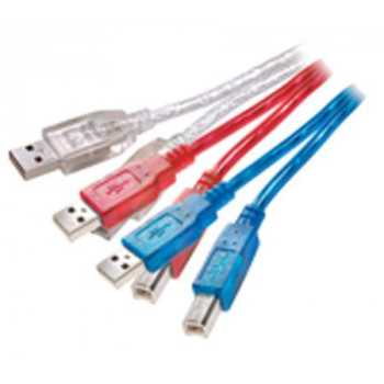 CABLE  VIVANCO .PS B/CK 151/1A  USB 2.0 A-B 1.5M VARIOS COLORES