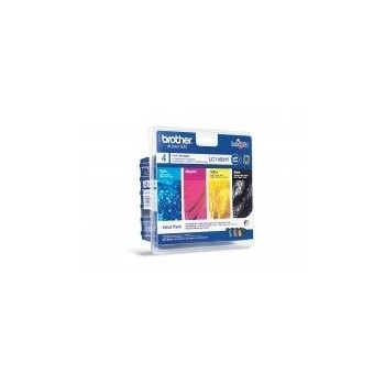 CARTUCHO BROTHER TINTAS LC1100HYVALBP PACK 4 COL AC