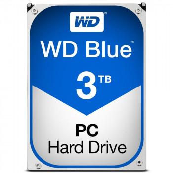 COMPONENTE PC WESTERN HDD BLUE 3TB 3 5 SATA3 64 MB 5400