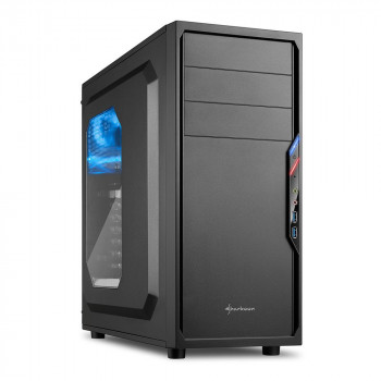 COMPONENTE PC  SHARKOON 4044951016044 CAJA ATX  VS4-W 2XUSB3.0 SIN FUENTE