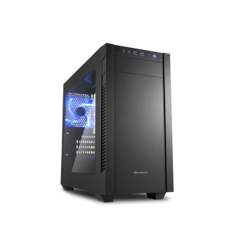 COMPONENTE PC  SHARKOON 4044951013944 CAJA MATX  S1000 WINDOW 2XUSB 3.0 SIN FUEN