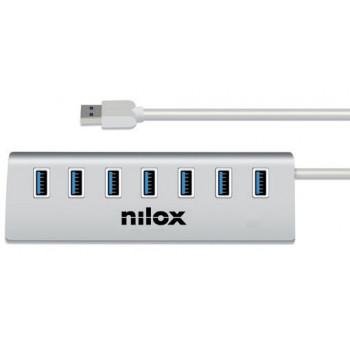 MODEM  NILOX NX7HUB30 HUB USB 7 PORTE 3.0
