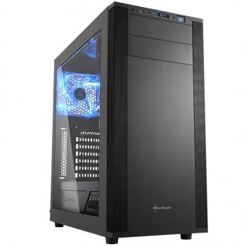 COMPONENTE PC  SHARKOON 4044951019328 CAJA ATX  M25-W 2XUSB3.0 SIN FUENTE NEGRO
