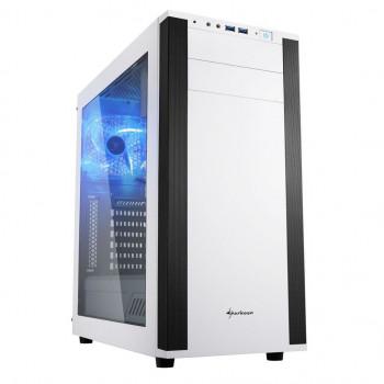 COMPONENTE PC  SHARKOON 4044951019335 CAJA ATX  M25-W 2XUSB3.0 SIN FUENTE BLANCO
