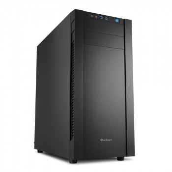 COMPONENTE PC  SHARKOON 4044951019298 CAJA ATX  S25-V 2XUSB3.0 SIN FUENTE