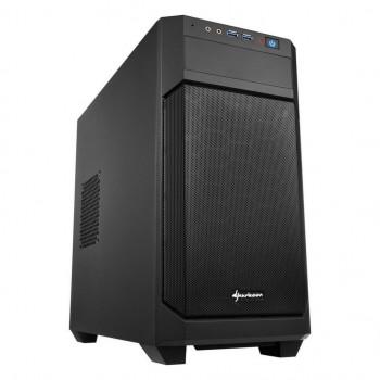 COMPONENTE PC  SHARKOON 4044951013951 CAJA MICROATX  V100 2XUSB3.0 SIN FUENTE