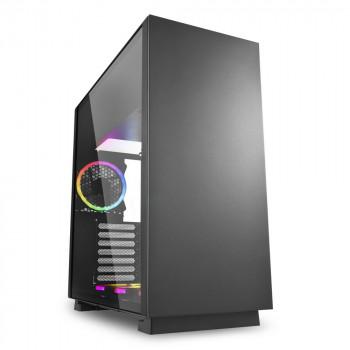 COMPONENTE PC  SHARKOON 4044951026616 CAJA GAMING  PURE STEEL ATX 2XUSB3.0 SIN F