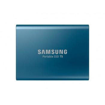 COMPONENTE PC  SAMSUNG MU-PA250B/EU SSD  T5 250GB EXTERNO METÁLICO AZUL G3 AÑOS