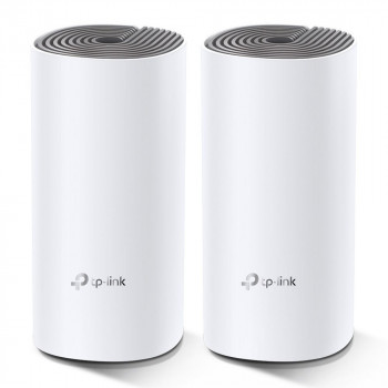 ROUTER  TP-LINK DECO E4 2-PACK REPETIDOR  AC1200 WHOLE-HOME MESH