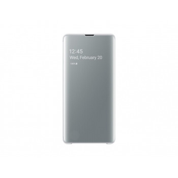 BOLSA  SAMSUNG EF-ZG975CWEGWW CLEAR VIEW COVER S10PLUS  WHITE
