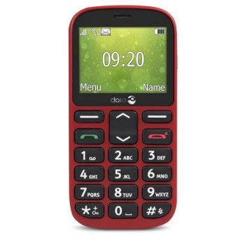 TELEFONO MOVIL  DORO 1361 ROJO   M??VIL SENIOR DUAL SIM 2.4     C??MARA 2MP BLUE