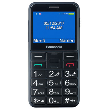 TELEFONO MOVIL SENIOR PANASONIC  KX-TU150EXB NEGRO