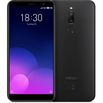 TELEFONO MOVIL  MEIZU M6T (16GB+2GB) NEGRO  M6T NEGRO M??VIL 4G DUAL SIM 5.7