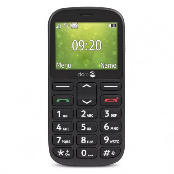 TELEFONO MOVIL  DORO 1361 NEGRO   M??VIL SENIOR DUAL SIM 2.4     C??MARA 2MP BLU