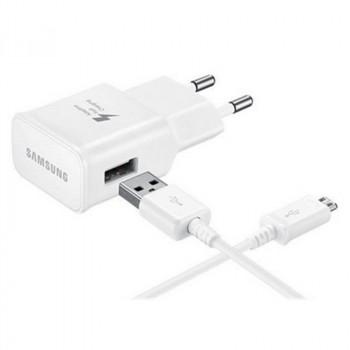 ALIMENTADOR SAMSUNG CARGADOR RAPIDO 15W USB TIPO C WHIT