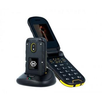 TELEFONO MOVIL  MYPHONE HAMMER BOW+ NEGRO AMARILLO  HAMMER BOW+ NEGRO AMARILLO M
