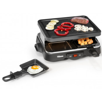GRILL MULTI GRILL TRISTAR RA-2949 RACLETE 4 PRES.
