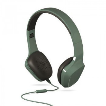 AURICULAR  ENERGY 428380 HEADPHONES 1 GREEN MIC