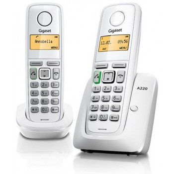 TELEFONO GIGASET TEL. DECT A220 DUO