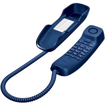 TELEFONO GIGASET  FIJO COMPACTO DA210 AZUL