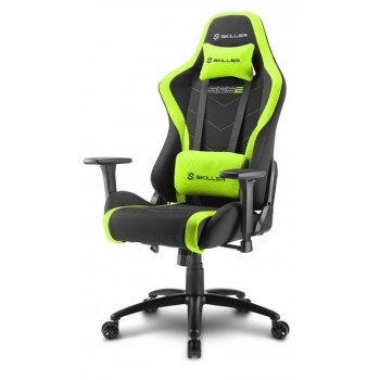 MUEBLE  SHARKOON 4044951020195 SILLA GAMING  SKILLER SGS2 NEGRO VERDE 160°