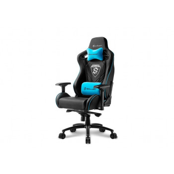 MUEBLE  SHARKOON 4044951021710 SILLA GAMING  SKILLER SGS4 NEGRO AZUL 160º