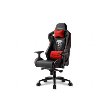 MUEBLE  SHARKOON 4044951021727 SILLA GAMING  SKILLER SGS4 NEGRO ROJO 160º