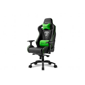 MUEBLE  SHARKOON 4044951021734 SILLA GAMING  SKILLER SGS4 NEGRO VERDE 160º