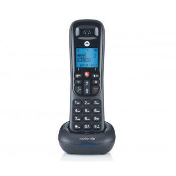 TELEFONO  MOTOROLA CD4001 NEGRO   TEL??FONO FIJO INAL??MBRICO CON PANTALLA Y TEC