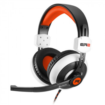 AURICULAR  SHARKOON 4044951018239 ES GAMING  RUSH ER2 BLANCO MICROFONO ALAMBRICO