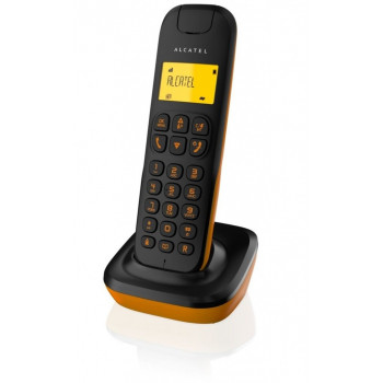 TELEFONO ALCATEL INALAMBRICO DECT D135 BLACK/ORANGE
